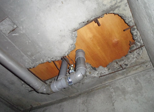 中古マンションの浴室天井裏から分かる3つのこと