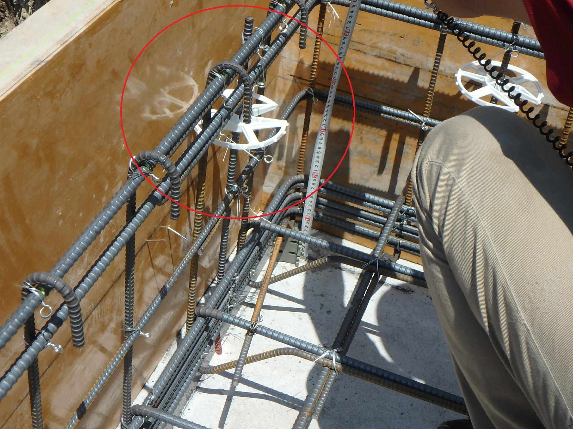 新築一戸建て工事中のチェックポイント④ コンクリートのかぶり厚