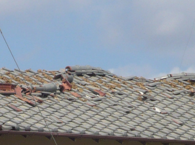 雹(ひょう)で屋根が壊れても、火災保険で補償できる⁉︎